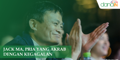 Jack Ma, Pria Yang Akrab Dengan Kegagalan