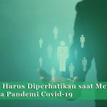 Hal-hal yang Harus Diperhatikan saat Mencari Kerja di Masa Pandemi Covid-19