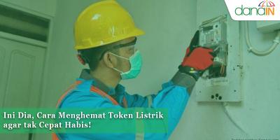 danain-cara menghemat token listrik-gambar petugas pln
