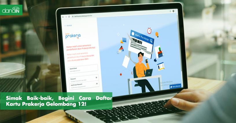 Danain-cara_daftar_program_kartu_prakerja-gambar wallpaper kartu prakerja di laptop