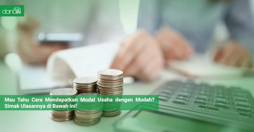 Danain-Cara_mendapatkan_modal_usaha_dengan_mudah-gambar setumpukan koin