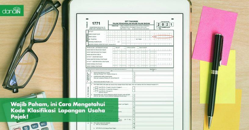 Danain-Cara_mengeahui_klu_pajak-gambar contoh dokumen klu pajak