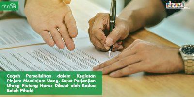 Danain-surat_perjanjian_utang_piutang-ilustrasi orang sedang menulis